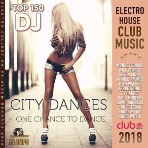 VA - City Dances Top 150 DJ (2018)