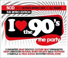 VA - I Love The 90s (The Retro Edition) -5CD-2018-DDS