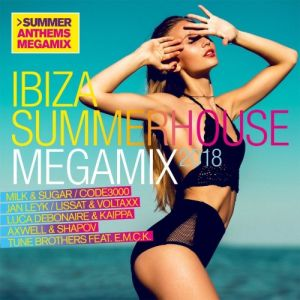 VA - Ibiza Summerhouse Megamix 2018 [2CD] (2018)-DeBiLL