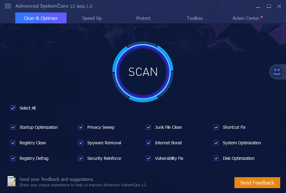 IObit Advanced SystemCare 12 Beta 1.0 (v12.0.0.118)